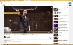 """YouTube-Screenshot aus dem Kanal eines bekannten """"Aufreiß-Künstlers"""". In inzwischen gelöschten Videos rühmt er sich mit Vergewaltigungen und präsentiert massive sexuelle Übergriffshandlungen. Nach massivem Protest hat Julien Blanc mittlerweile Einreiseverbot in Großbritannien und Australien."""