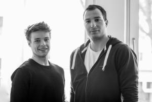 Die neuen Sportreferenten des AStA der Uni Bonn Joshua Miethke (l.) und Matthias Dempfle (r.) Foto: Ronny Bittner