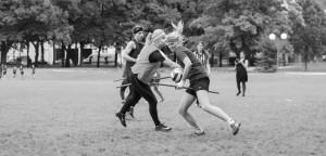 Ein brutaler Kontaktsport? Foto: Sam F. J.