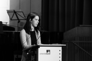 Schmitz bei Rede zur Eröffnung des Akademischen Jahres. Foto: Ronny Bittner