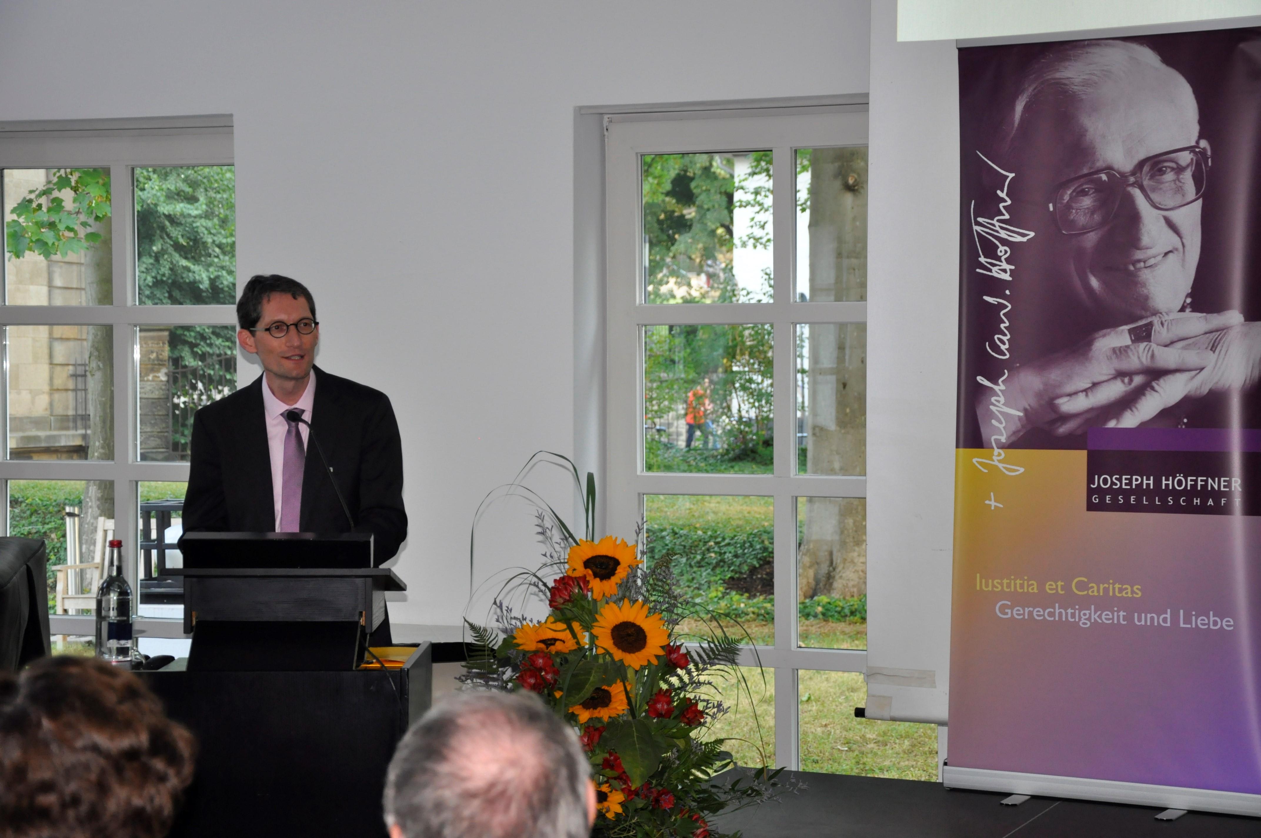 16. Joseph-Höffner-Vorlesung: Das Stigma seelischer Leiden als gesellschaftliche Herausforderung